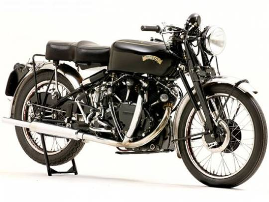 1952 Vincent Black Shadow bike was one of the earliest bikes to cross the 100 mph speed barrier