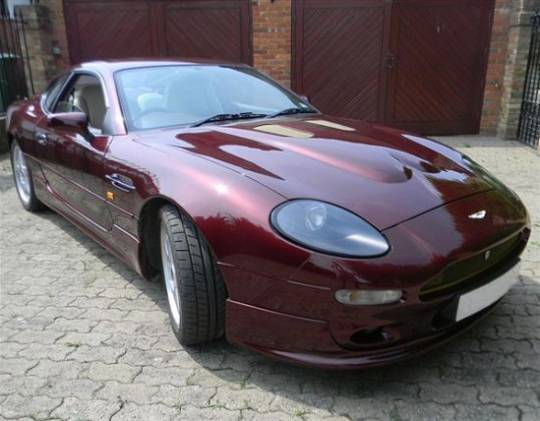 One-Off Aston Martin DB7 V8 for Saudi Royal Family
