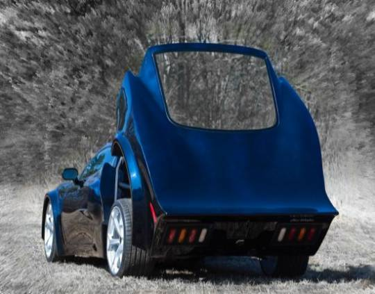 Alessi Fiberglass AR-1 custom made car