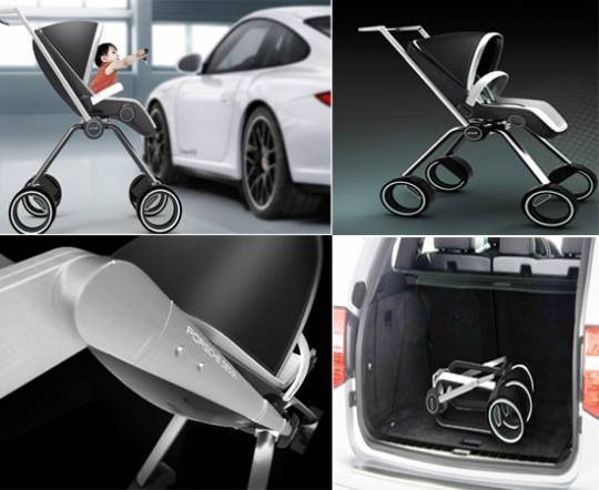 The Porsche Design P'4911 baby stroller by Dawid