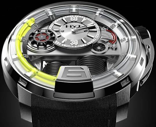 HYT H1 hydraulics watch