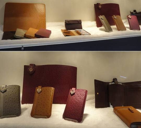Eblouir leather iPhone cases