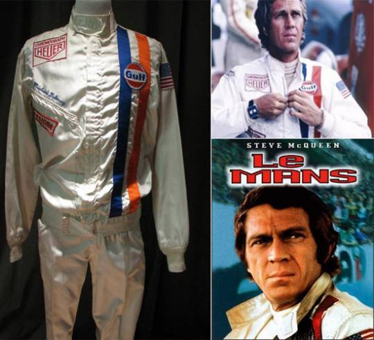 Steve McQueen Le Mans movie suit