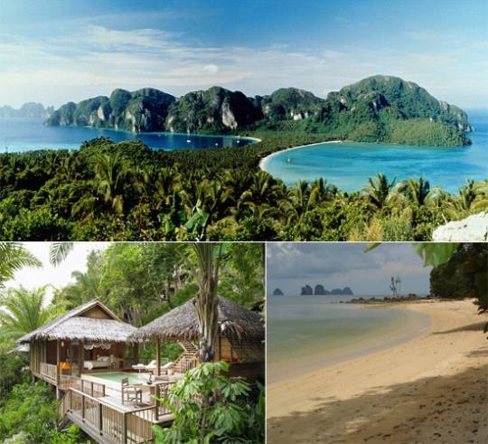 The Koh Yao Noi Island