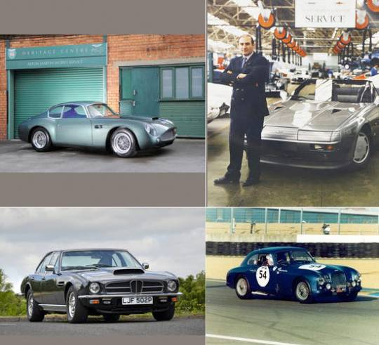 Vintage Aston Martin cars auction