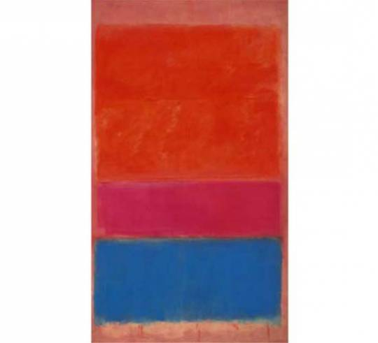 Mark Rothko's 1954 masterpiece will lead Sotheby's Evening Sale of Contemporary Art