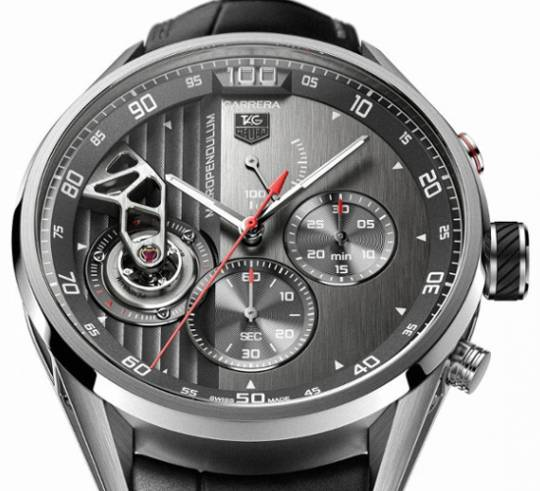 Tag Heuer MikroPendulum watch with the first pendulum based design instead of traditional hairspring