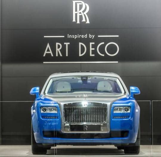 Rolls-Royce Art Deco Inspired Cars debut at Paris Motor Show