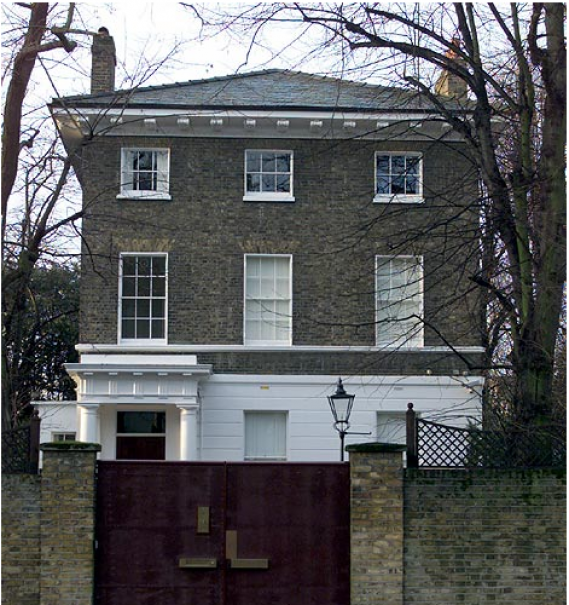 photo: house/residence of friendly 1002 million earning London, England, UK-resident