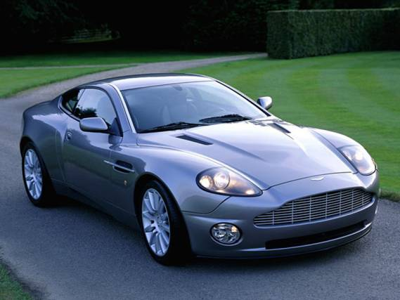 photo of Janet Jackson Aston Martin Vanquish - car