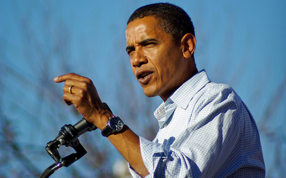 Barack Obama wears Jorg Gray 6500 watch