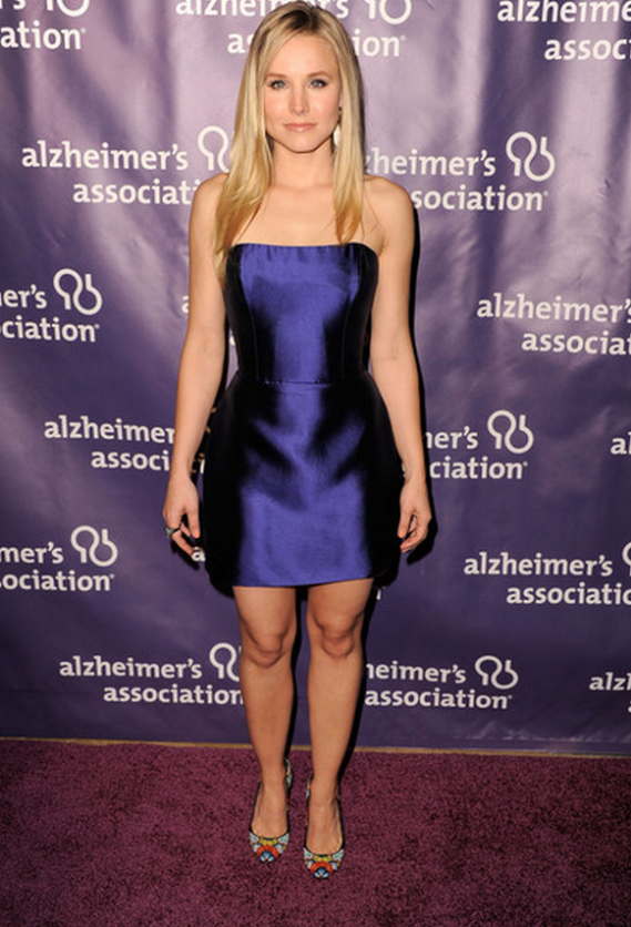 "Kirsten wore these designer $800 pumps to the Annual ""A night at Sardi's"" fundraiser event in Los Angeles ."