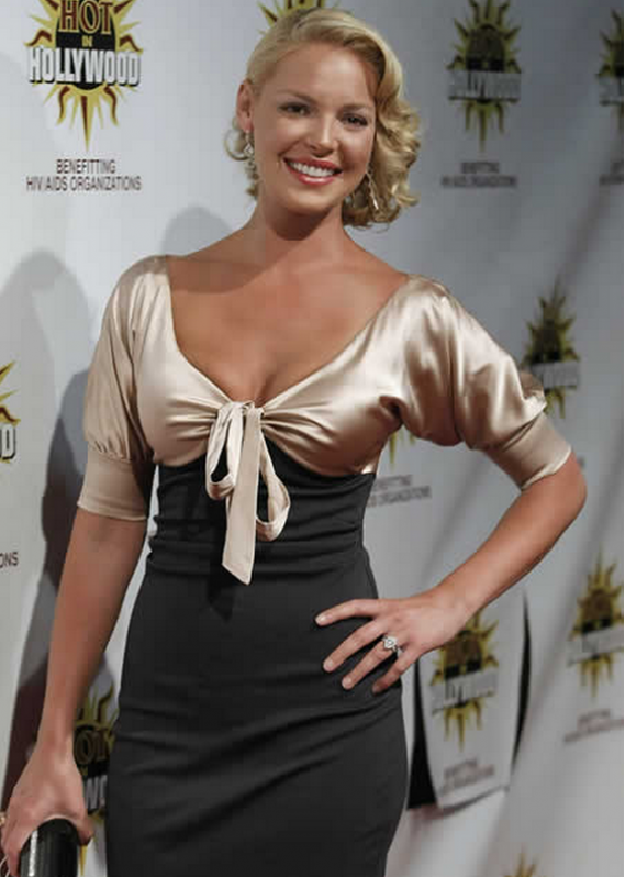 Actress Katherine Heigl has been an active supporter of the AIDS Healthcare Foundation.