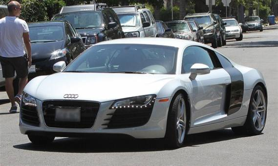 John Mayer drives Audi R8