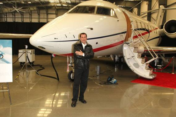 John Travolta's Private Jet collection