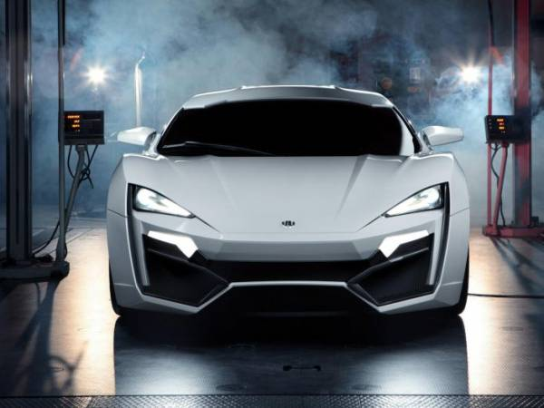 $3.4 million ultra-luxury LykanHypersport