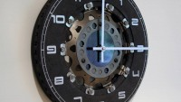 Formula One Brake Disc Clock
