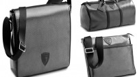 Lamborghini's new line of Carbon Fiber bags are meant for the classic executives