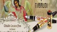 Tibaldi & Montegrappa creates pen to honor Sanctus Michael Archangelus