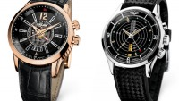 Cricket Anniversary Heart Automatic Calendar and Nautical Heritage watches by Vulcain