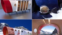 Eco friendly Alpine pod for luxury trekking