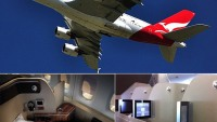 The new first class cabin of Qantas's A380 is inspired from Star Trek