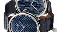 Hermes Arceau Marqueterie de Paille watches present the brand's finest straw marquetry