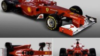 Ferrari begins the year with the new F2012 Formula 1 single seater race car