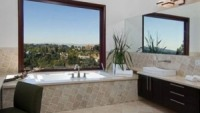 The contemporary bathroom