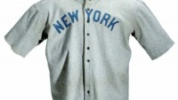 Babe Ruth Jersey sells for $4.4 million setting new Sports Memorabilia Record