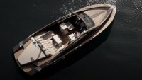 Art of Kinetik's Antagonist wooden speedboat sets a benchmark in luxury compact yachts with power & style