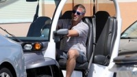 The Chelsea Football Club owner was spotted having a good time driving the vehicle