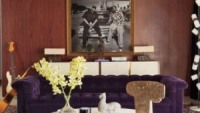 Dr. Dre and Snoop Dogg's portrait displayed in the living room