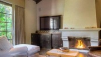 Fireplace in the living hall