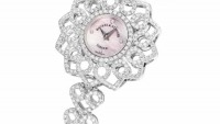 Backes & Strauss Victoria Princess diamond watch is inspired by a 19th century brooch