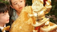 Christmas goes gold with