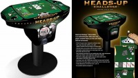 Electronic Heads-Up Challenge Home Edition Poker Table