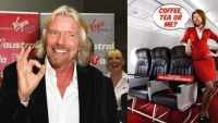 Who's gonna shave Sir Richard Branson's legs for $650,000?