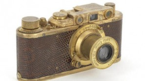 Gold Plated Leica Luxus II turns out to be the Most Expensive Camera