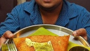 Indian restaurant's 24 Karat Dosa is the world's most expensive pancake made from rice