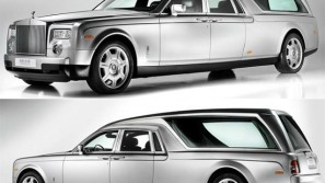 Rolls Royce Phantom Hearse B12 is the world's most expensive funeral car