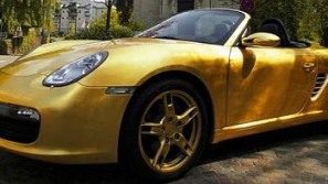 Gold-Plated Porsche Avialble In Limited Edition