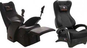 Renegade Gaming Chair rocks, doubles as relaxing massage-recliner
