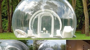 Bubble tents: Unusual huts for unusual nights under the stars