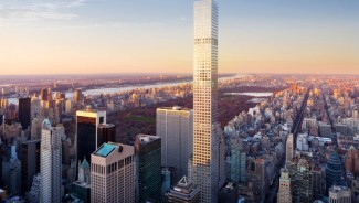 The tallest residential building in New York