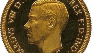 Rare Edward VIII gold proof sovereign sells for record $874,700