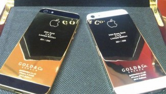 World's first 24 karat gold plated iPhone 5