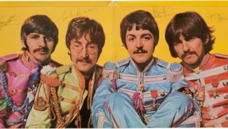Beatles signed Sgt. Pepper's Lonely Hearts Club Band cover to score big at Music Memorabilia Auction