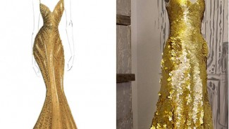 Zac Posen designs 24-karat gold dress worth $1.5 million