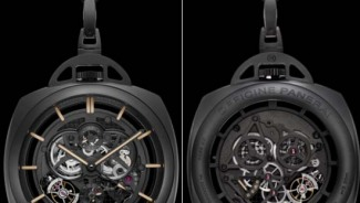 Pocket Watch Tourbillon GMT Ceramica / PAM00446 echoes the history of the watch brand Officine Panerai